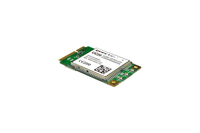 A product image for Scheda MiniPCie UC20 – 3G Global no SIM