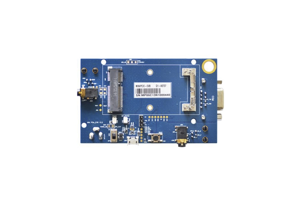 Scheda trasporto evalMiniPCIe(NO modem)