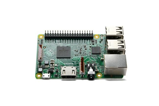 A product image for Raspberry Pi 2 Modello B