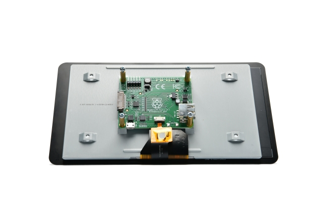 A product image for Raspberry Pi LCD touchscreen da 7″
