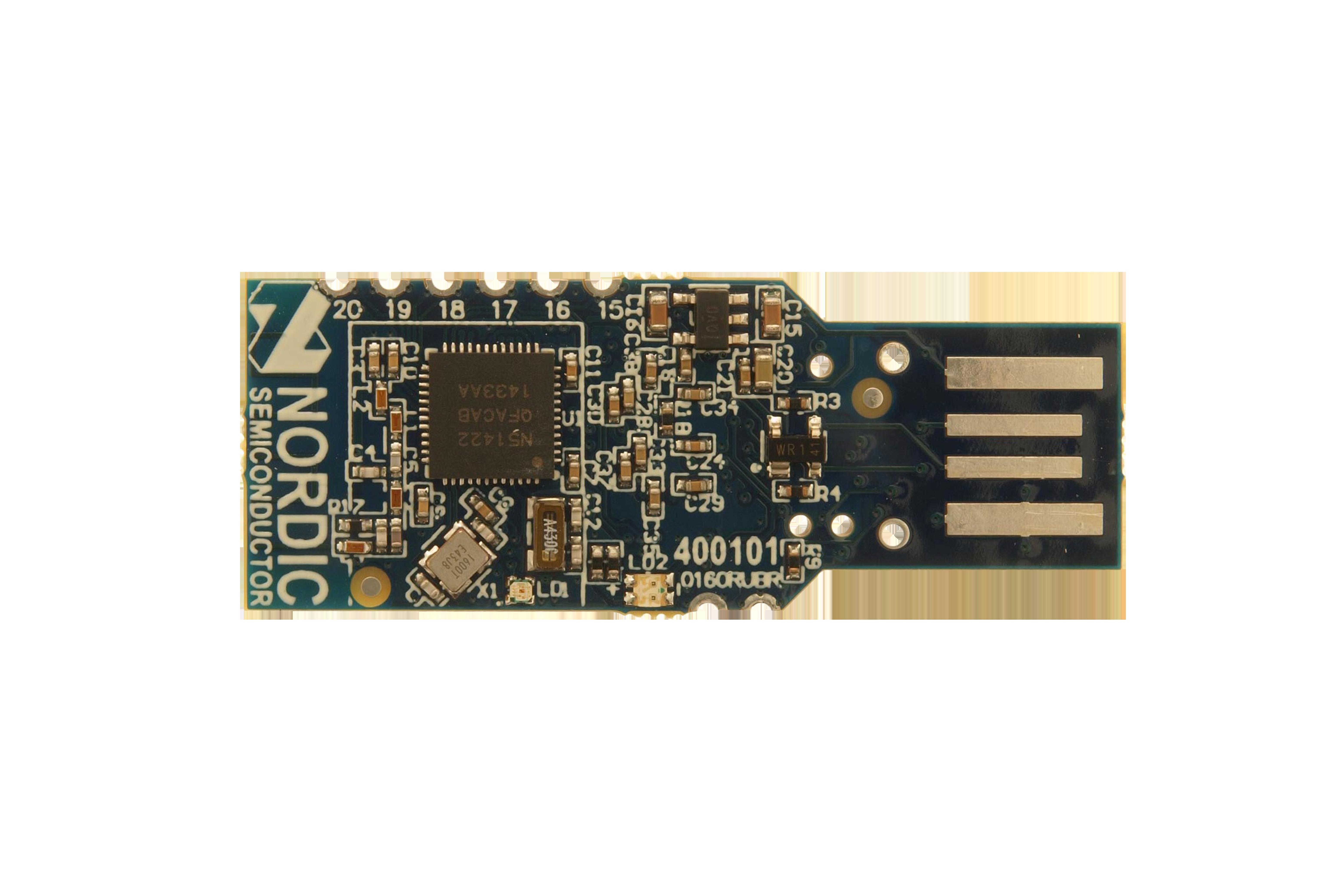 Chiavetta USB nRF51 per emulatore, firmware