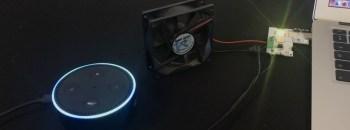 Making An Alexa Controlled Fan Using XinaBox
