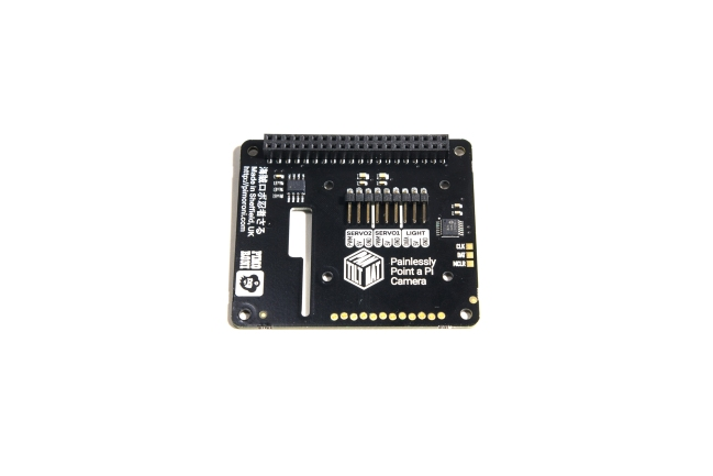 A product image for SERVI HAT INCLINABILI PER RASPBERRY PI