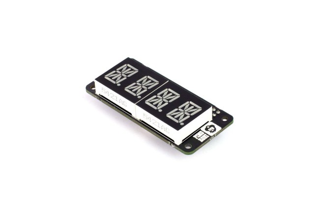 A product image for DISPLAY QUATTRO LETTERE 14 SEGMENTI PHAT PI