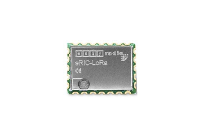 A product image for Modulo ricetrasmettitore eRIC-LoRa LoRa 868MHz