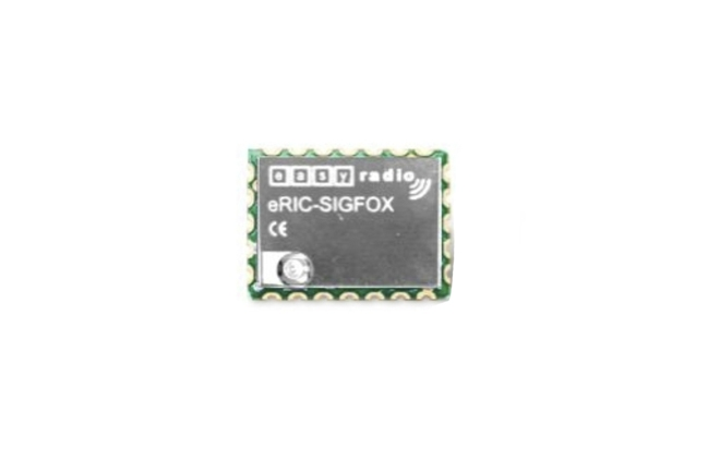 A product image for Modulo ricetrasmettitore SIGFOX 868MHz