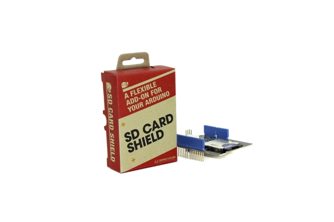 A product image for SCUDO SCHEDA SD V4.1 PER ARDUINO