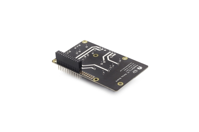 A product image for SCHEDA RELÈ RASPBERRY PI V1.0