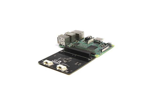 A product image for MATRICE RESPEAKER 4-MIC PER RASPBERRY PI