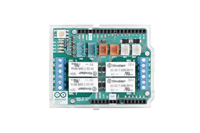 A product image for Arduino 4 Scheda relè