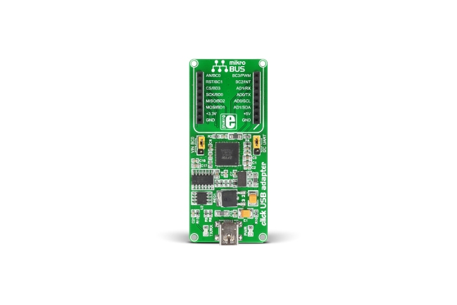 A product image for GSM2 click mikroBUS