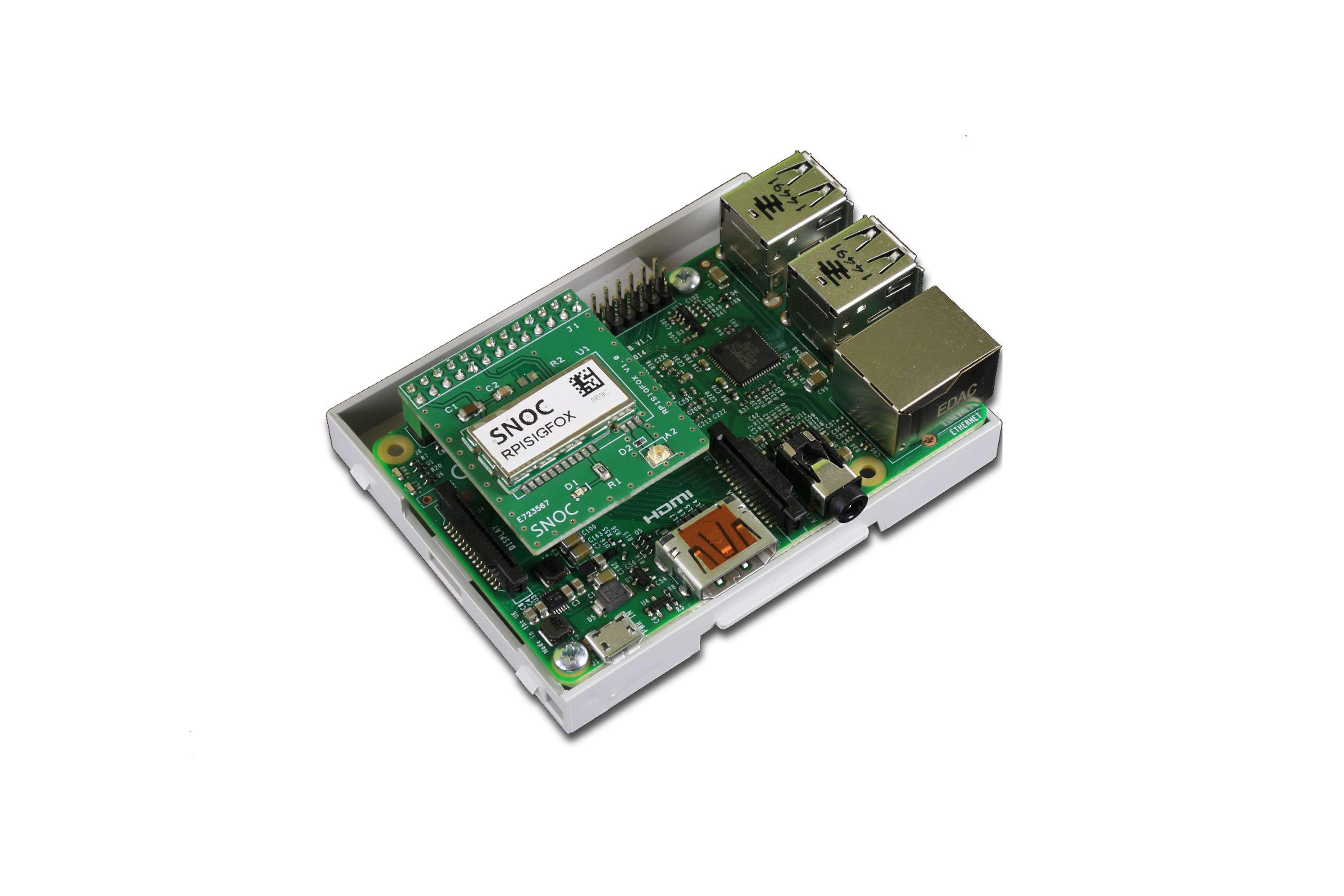 SIGFOX HAT per Raspberry Pi