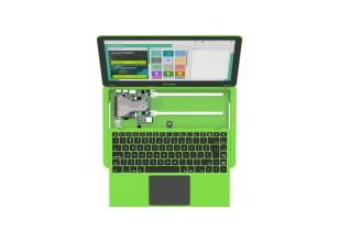 Pi-Top Tastiera Regno Unito e PSUUE - Verde