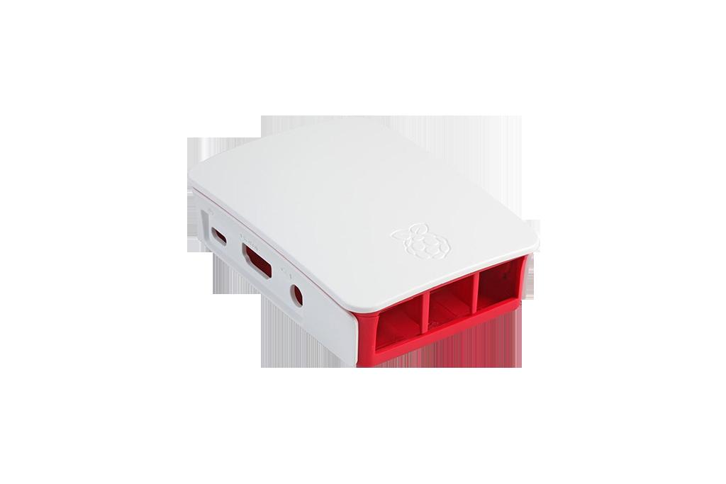 Official Pi 3 Case rosso/bianco