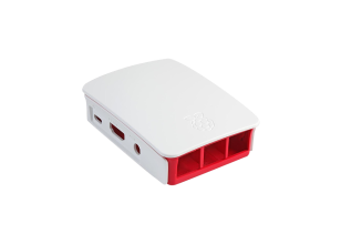 Official Pi 3 Case rosso/bianco
