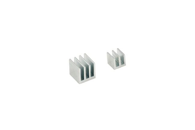 A product image for Kit dissipatore di calore Raspberry Pi – Argento