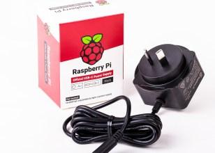 Alim. originale nero Raspberry Pi 5,1V/3A con USB-C per AU