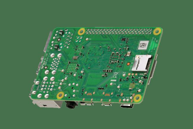 A product image for Scheda Raspberry Pi 4 Modello B con SDRAM LPDDR4 da 4GB