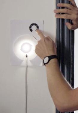 A product image for Kit Lampada della vernice elettrica