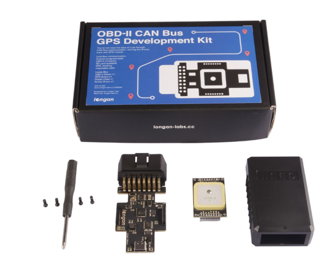 A product image for OBD-II CAN Bus Kit GPS per lo sviluppo