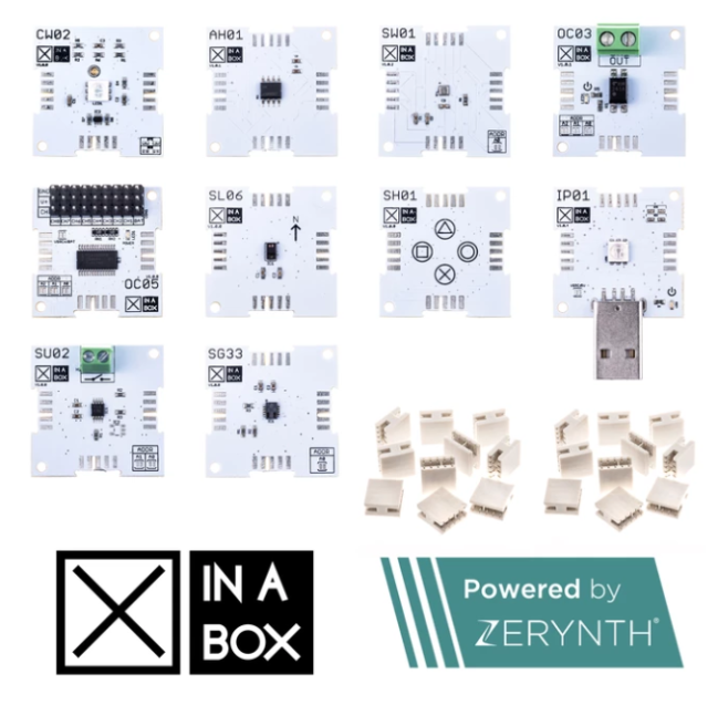 A product image for Xinabox IoT Plus Kit, Powered By Zerynth