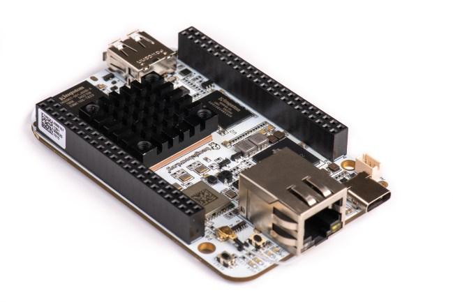 A product image for BeagleBone AI