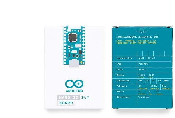 A product image for Nano 33 IoT WO / intestazioni