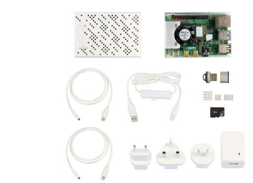 Kit Okdo Raspberry Pi 4 4GB Modello B Starter