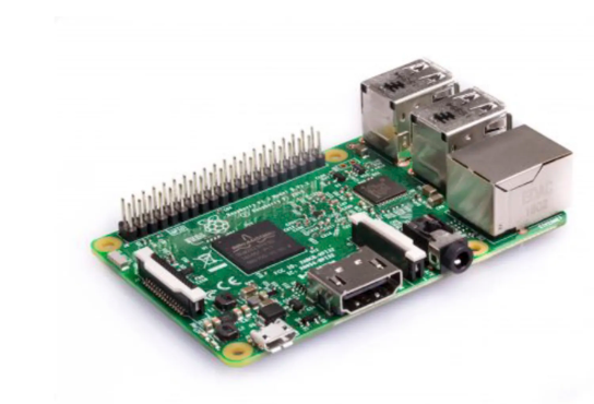 A product image for Raspberry Pi 3 Modello B SBC