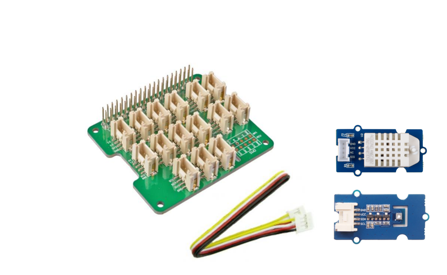 Kit aria di qualità per Raspberry Pi