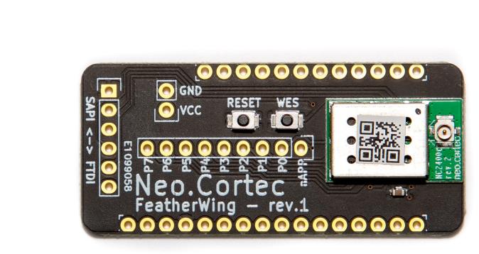 NeoCortec - Neomesh NC2400C Bordo Di Sblocco Compatibile Con Adafruit Feather - FWNC2400C