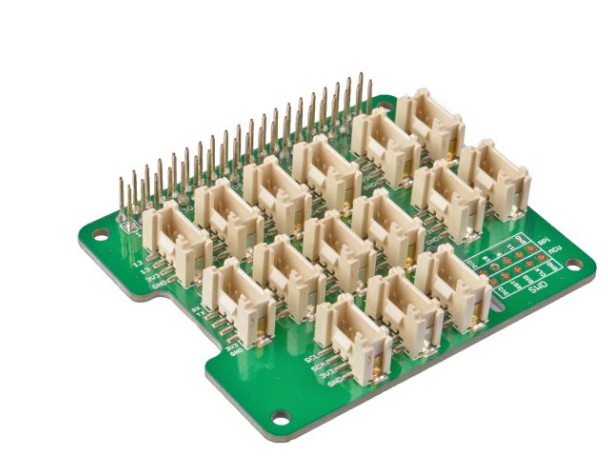 A product image for Grove Base HAT For Raspberry Pi