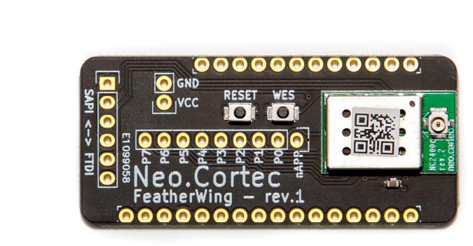 NeoCortec - Neomesh NC1000C-9 del bordo di sblocco compatibile con Adafruit Feather - FWNC1000C-9