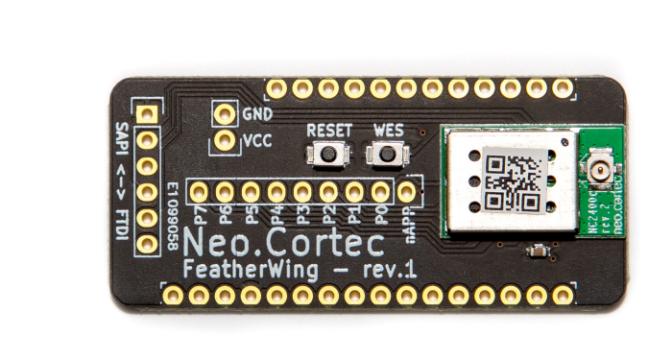 A product image for NeoCortec – Neomesh NC1000C-9 del bordo di sblocco compatibile con Adafruit Feather – FWNC1000C-9
