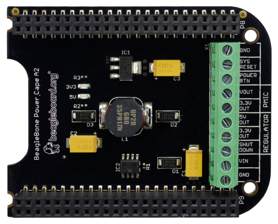 A product image for Beaglebone Power Cape