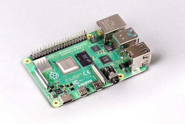 A product image for RASPBERRY PI 4 MODELLO B – 8GB