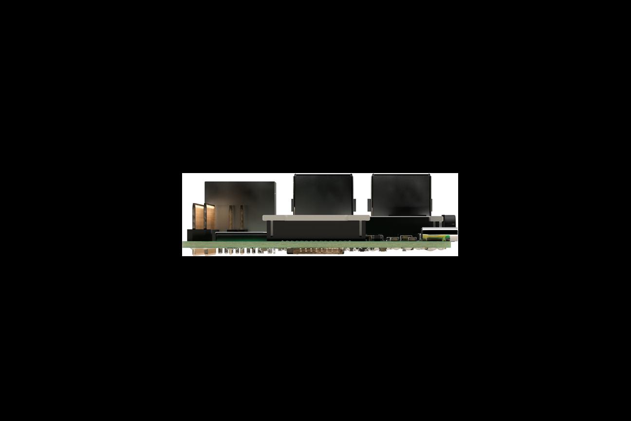 Scheda Raspberry Pi 4 Modello B con SDRAM LPDDR4 da 2GB