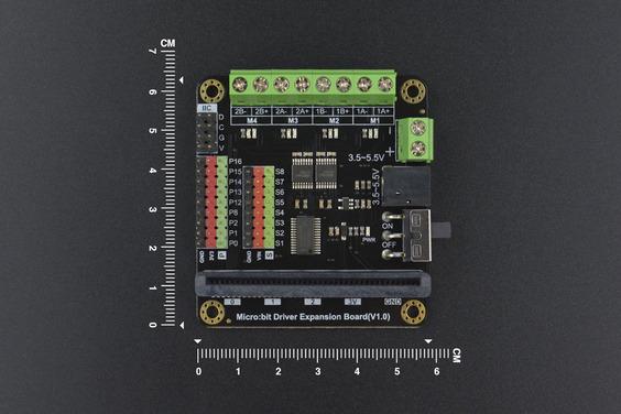 A product image for Scheda di espansione driver per robot DF per micro: Bit