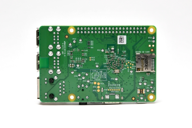 A product image for Raspberry Pi Modello B+