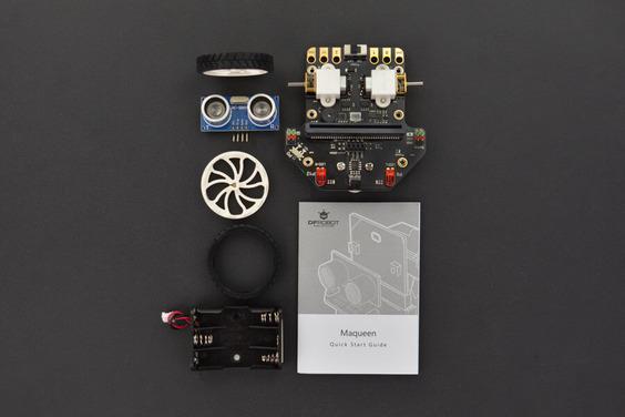 Robot Micro DF: Piattaforma robot Micro:bit Maqueen Lite