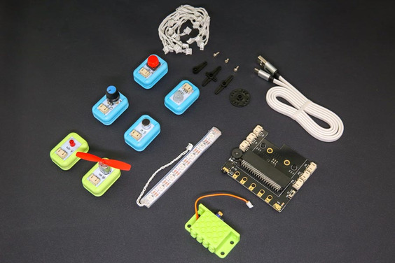 A product image for Starter kit PER BOSONE robot DF per micro:bit