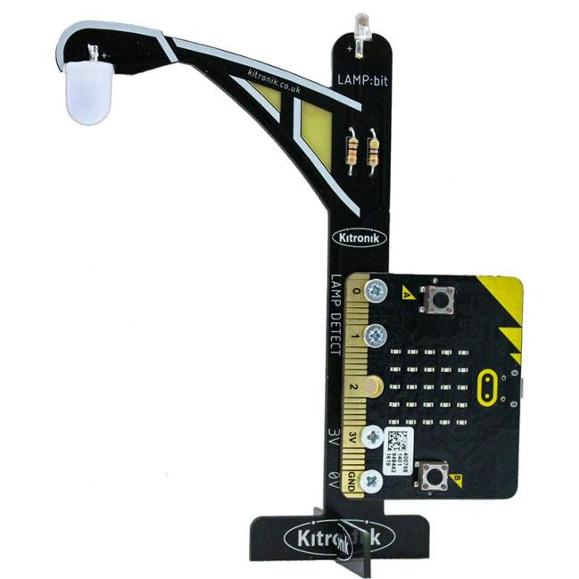 A product image for Kitronik LAMP:bit – Street Light for BBC micro:bit