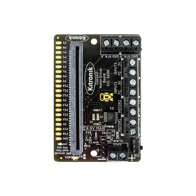 Kitronik Compact Motor Driver Board for the BBC micro:bit