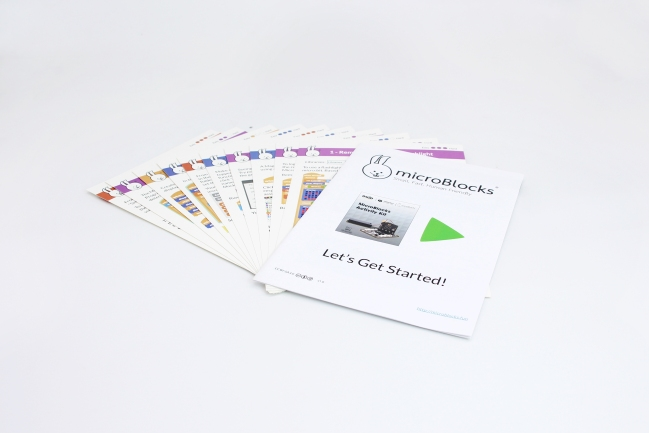 A product image for OKdo MicroBlocks Classroom Activity Kit