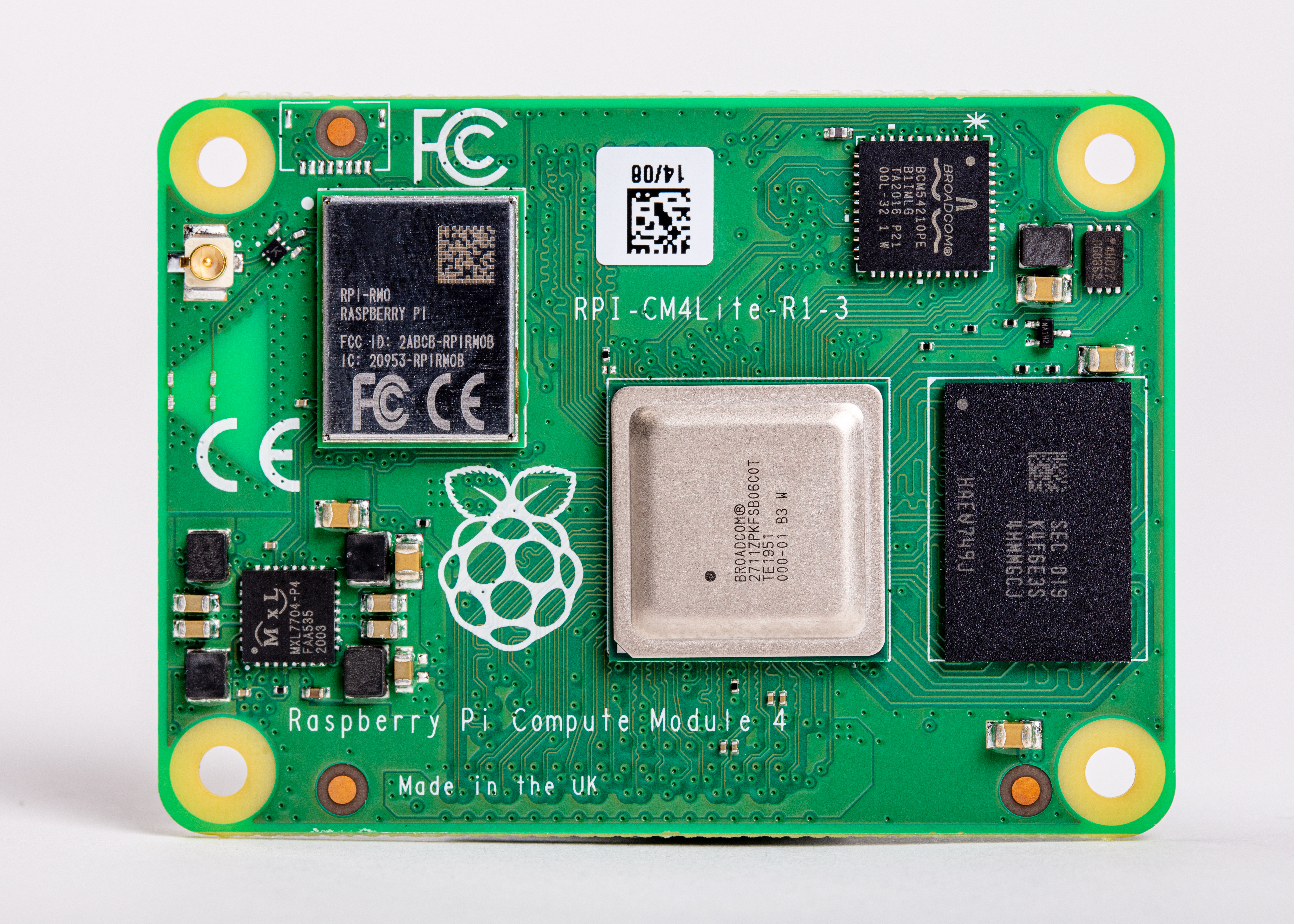 Raspberry Pi Compute Module 4 with WiFi 2GB RAM Lite