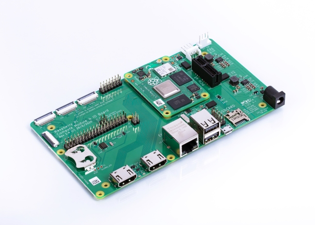 A product image for Raspberry Pi CM4 IO Board