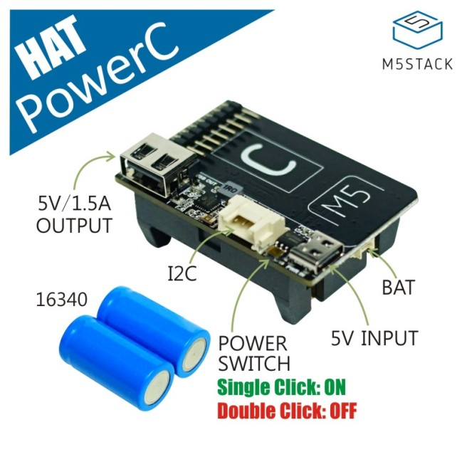 A product image for M5StickC PowerC