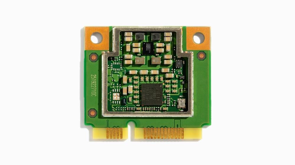 Coral Mini PCIe Accelerator