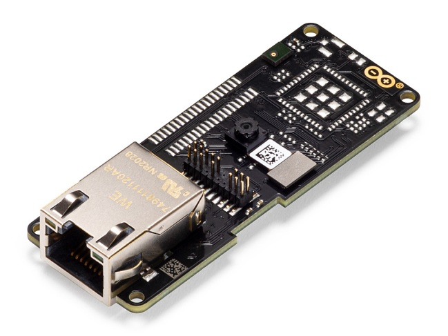 A product image for Arduino Portenta Vision Shield – Ethernet