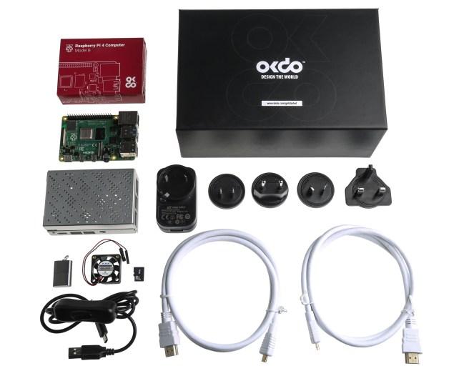 A product image for Kit Okdo Raspberry Pi 4 8GB Modello B Starter